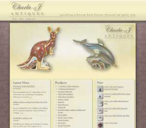 Charla-J Antiques Website