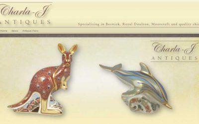New Website – Charla-J Antiques