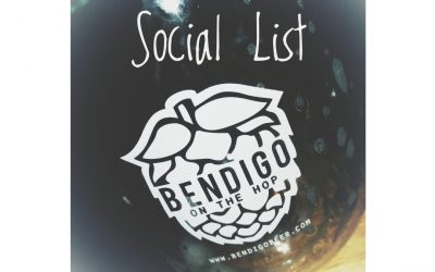 Bendigo On The Hop Social List